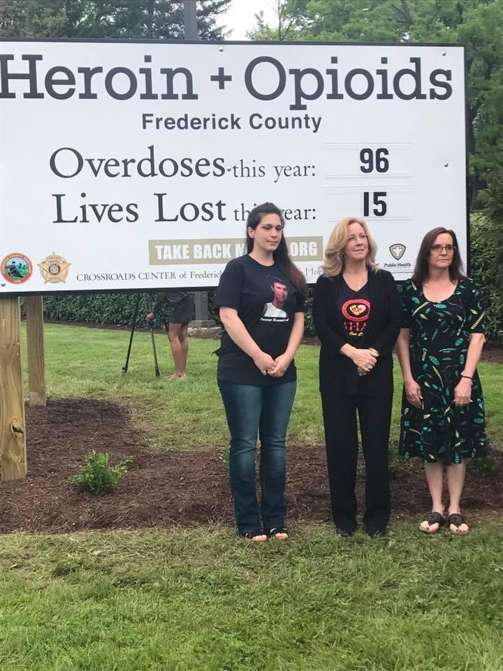 Frederick County Awareness Sign