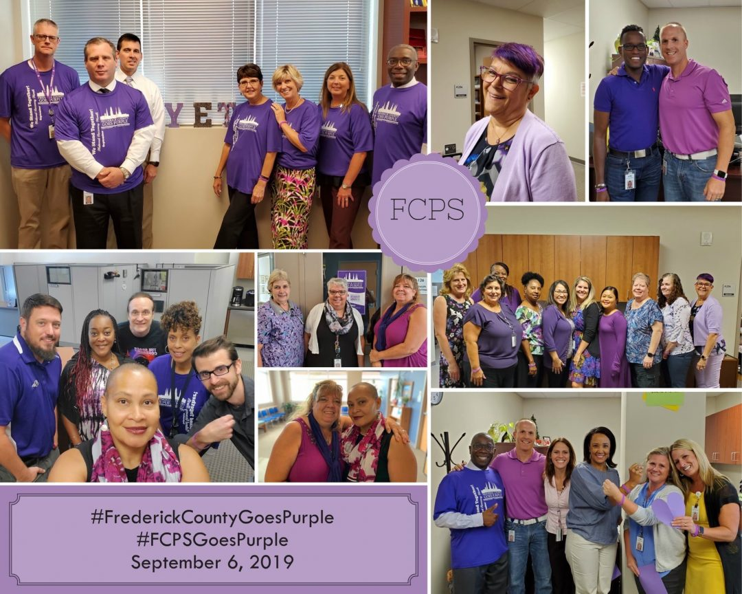 2019 Frederick County Goes Purple